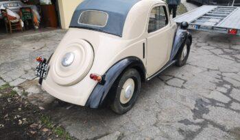 Fiat 500 Topolino 1939 completo